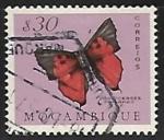 Sellos de Africa - Mozambique -  Mariposa
