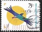 Sellos de America - Argentina -  Condor