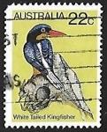 Sellos de Oceania - Australia -  Martin Pescador
