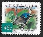 Sellos de Oceania - Australia -  Variegated Fairywren