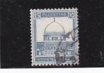 Sellos del Mundo : Asia : Israel : Mausoleo-Palestina