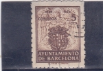 Stamps : Europe : Spain :  Ayuntamiento de Barcelona (29)