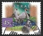 sello : Oceania : Australia : Grullas