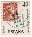 Stamps : Europe : Spain :  Día Mundial del Sello 1967