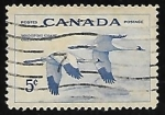 Stamps Canada -  Grullas