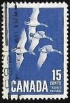 Sellos del Mundo : America : Canadá : Canadian Geese