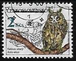 Sellos de Europa - Checoslovaquia -   Aves Rapaces