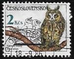 Sellos del Mundo : Europa : Checoslovaquia :  Aves Rapaces
