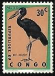 Sellos de Africa - República del Congo -  Ave