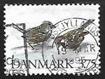 Sellos del Mundo : Europa : Dinamarca : House Sparrow
