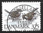 Sellos de Europa - Dinamarca -  House Sparrow