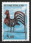 Sellos de Europa - Finlandia -  Gallo