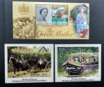 Stamps : Europe : United_Kingdom :  The Queen Mother
