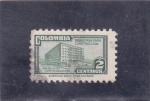 Stamps Colombia -  Palacio Comunicaciones