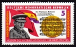 Stamps : Europe : Germany :  BRIGADAS INTERNACIONALES-HANS KAHLE 1899-1947