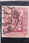 Sellos de America - Chile -  4ºCentenario de la Fundación de la Ciudad de Angol