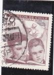 Stamps : America : Chile :  Campaña nacional de alfabetización