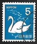 Stamps Japan -  Aves