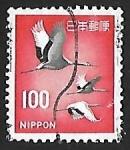 Stamps Asia - Japan -  Grullas