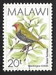 Stamps Africa - Malawi -  Mandingoa nitidula