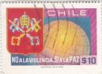 Stamps Chile -  NO a la violencia, SI a la PAZ