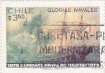 Sellos del Mundo : America : Chile : 100 Aniversario combate naval de Iquique