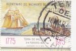 sello : America : Chile : 200 Aniversario de la Toma de Valdivia