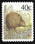 Sellos de Oceania - Nueva Zelanda -  Brown Kiwi