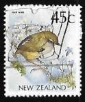 Sellos de Oceania - Nueva Zelanda -  Pajaro