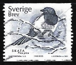 Stamps Sweden -  Pica Pica