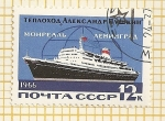 Stamps Russia -  Transatlantico Leningrado-Montreal