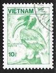 Sellos del Mundo : Asia : Vietnam : Great Hornbill
