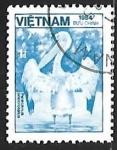 Stamps Vietnam -  Pelícanos