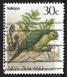 Sellos de Oceania - Nueva Zelanda -  Loro