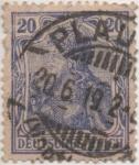Sellos de Europa - Alemania -  Y & T Nº 70