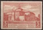 Sellos del Mundo : Europa : España : Monasterio de la Rábida  1930  5 cts rojizo