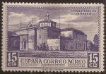 de Europa - España -  Monasterio de la Rábida  1930  15 cts