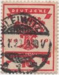 Stamps Germany -  Y & T Nº 106