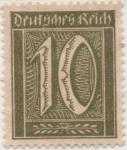 Stamps Germany -  Y & T Nº 139
