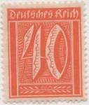 Stamps Germany -  Y & T Nº 143