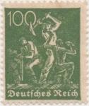 Sellos de Europa - Alemania -  Y & T Nº 147