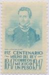 Stamps : America : Mexico :  1er. Centenario de la Batalla de Molino Del Rey