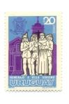 Stamps of the world : Uruguay :  HOMENAJE A VILLA SORIANO