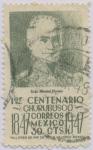 Stamps Mexico -  1er. Centenario de la Batalla de Churubusco