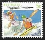 Stamps Australia -   Piragüismo