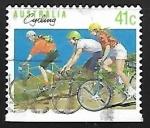 Sellos de Oceania - Australia -  Ciclismo