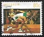 Sellos de Oceania - Australia -  Tenis
