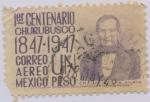 Stamps : America : Mexico :  1er. Centenario de la Batalla de Churubusco