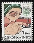 Sellos de Europa - Checoslovaquia -  Deportes de Invierno