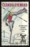 Sellos de Europa - Checoslovaquia -  Atletismo